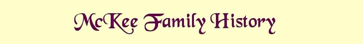 McKee Family History